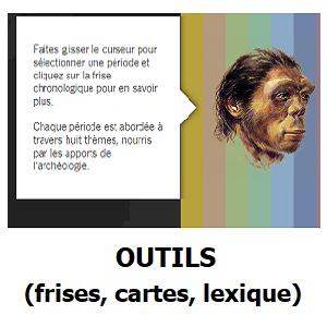 Outils (frises, cartes, lexique)