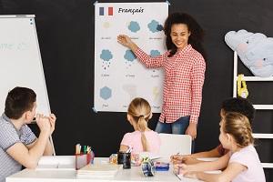 Enseigner le français aux enfants