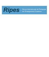 Ripes : Revue internationale de pédagogie de l'enseignement supérieur