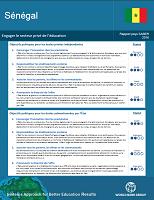 Sénégal : engager le secteur privé de l'éducation : rapport pays SABER 2016