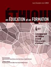 n°4/2017 - 2018 - L'enseignement de l'éthique à l'école  : entre principes et pratiques