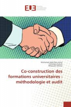 Co-construction des formations universitaires : méthodologie et audit