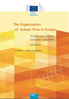 The organisation of school time in Europe: primary and general secondary education - 2018/19