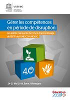 Gérer les compétences en période de disruption : les points marquants du Forum d'apprentissage de l'EFTP de l'UNESCO-UNEVOC