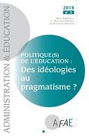n° 159 - septembre 2018 - Politique(s) de l'éducation : des idéologies au pragmatisme ?
