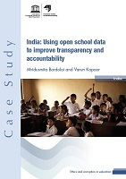 India: using open school data to improve transparency and accountability