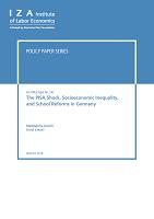 The PISA shock, socioeconomic inequality, and school reforms in Germany