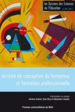 n° 38 - 2017 - Activité de conception du formateur et formation professionnelle