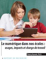 Le numérique dans nos écoles : usages et charge de travail
