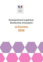 Enseignement supérieur, Recherche, Innovation en chiffres 2018