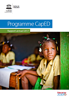 Programme CapED : rapport annuel 2017
