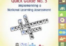 Quick guide no. 3: implementing a national learning assessment