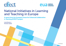 National initiatives in learning and teaching in Europe: a report from the European forum for enhanced collaboration in teaching (EFFECT) project