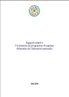 Rapport relatif à l'évaluation du programme d'urgence - Ministère de l'éducation nationale