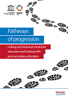 Pathways of progression: linking technical and vocational education and training with post-secondary education