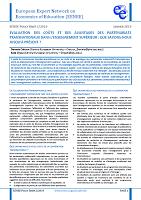 Evaluation des coûts et des avantages des partenariats transnationaux dans l'enseignement supérieur : que savons.nous jusqu'à présent ?