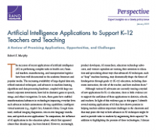 Artificial intelligence applications to support teachers and teaching a review of promising applications, challenges, and risks
