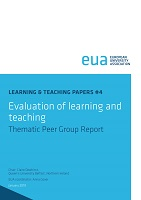 Evaluation of learning and teaching : thematic peer group report