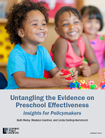 Untangling the evidence on preschool effectiveness: insights for policymakers