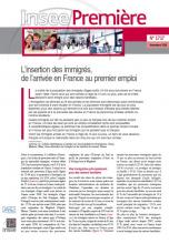 L'insertion des immigrés, de l'arrivée en France au premier emploi