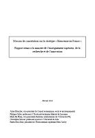 Mission de concertation sur la stratégie « Bienvenue en France » : rapport remis à la ministre de l'enseignement supérieur, de la recherche et de l'innovation