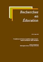 Frontières de l'école, frontières dans l'école : enjeux politiques, défis éthiques