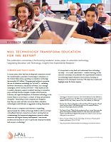 Will technology transform education for the better?