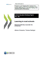 Learning in rural schools: insights from PISA, TALIS and the literature