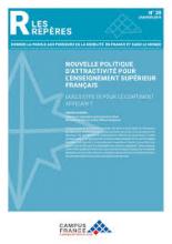 n° 28 - janvier 2019 - Nouvelle politique d'attractivité pour l'enseignement supérieur français : quels effets pour le continent africain?