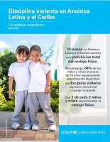 Disciplina violenta en América Latina y el Caribe. Un analisis estadistico (abril 2018)