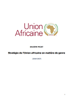 Stratégie de l'Union africaine en matière de genre (2018-2027)