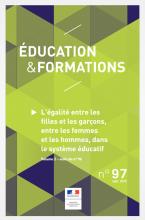 L'égalité entre les filles et les garçons, entre les femmes et les hommes, dans le système éducatif. Volume 2