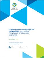 Le bilinguisme anglais-français hors Québec : un portrait économique des bilingues au Canada