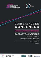 Les acquis des élèves en langues vivantes étrangères : rapport scientifique - Langues vivantes étrangères : conférence de consensus
