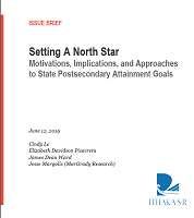 Setting a north star: motivations, implications and approaches to state postsecondary attainment goals