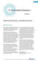 L'alternance dans Erasmus + : un premier état des lieux