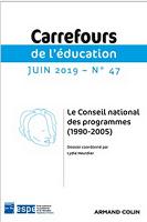 Le conseil national des programmes (1990-2005) : dossier