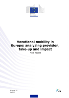 Vocational mobility in Europe: analysing provision, take-up and impact: final report