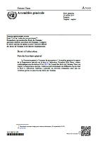 Rapport de la Rapporteuse spéciale sur le droit à l'éducation