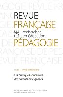 Les pratiques éducatives des parents enseignants : dossier
