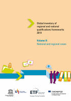 Global inventory of regional and national qualifications frameworks 2019 : volume II : national and regional cases