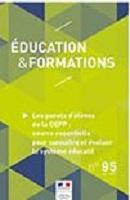 n° 95 - décembre 2017 - Les panels d'élèves de la DEPP : source essentielle pour connaître et évaluer le système éducatif