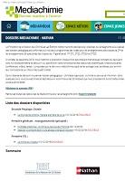 Mediachimie - dossiers pédagogiques