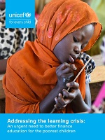 Addressing the learning crisis: an urgent need to better finance education for the poorest children