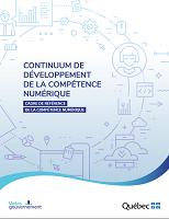 Continuum de développement de la compétence numérique : cadre de référence de la compétence numérique