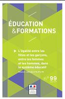 n° 99 - juillet 2019 - L'égalité entre les filles et les garçons, entre les femmes et les hommes, dans le système éducatif. Volume 4