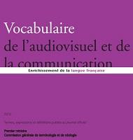 Vocabulaire de l'audiovisuel et de la communication