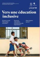 Vers une éducation inclusive: l'essentiel des tables rondes techniques de l'UNICEF et de l'IIPE sur la planification de l'éducation inclusive tenant compte du handicap