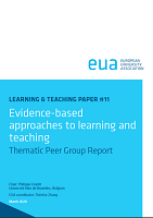 Evidence-based approaches to learning and teaching : thematic peer group report