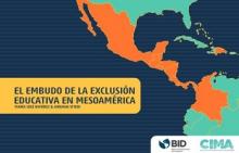 El embudo de la exclusión educativa en Mesoamérica